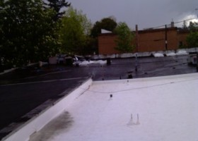 Eliminate Ponding Water on Your Flat Roof